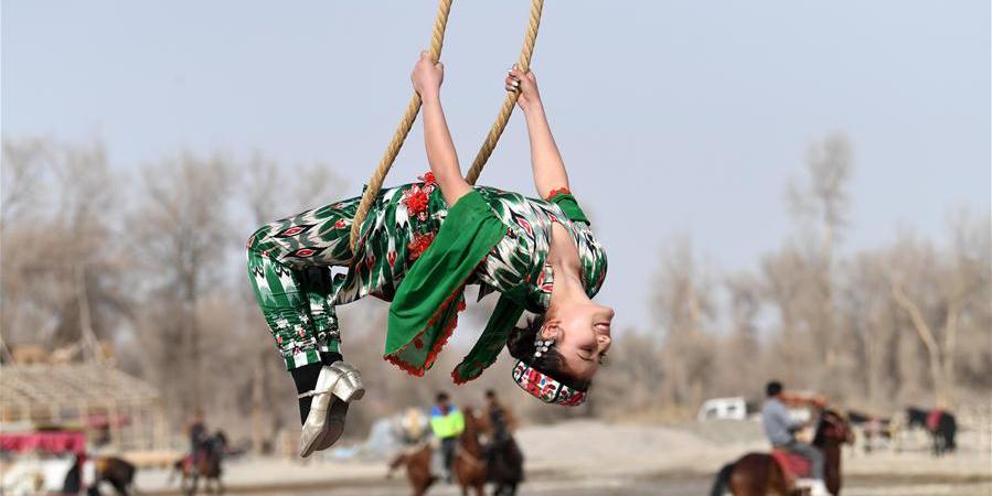 Shaghydi: Esporte étnico da etnia Uigur