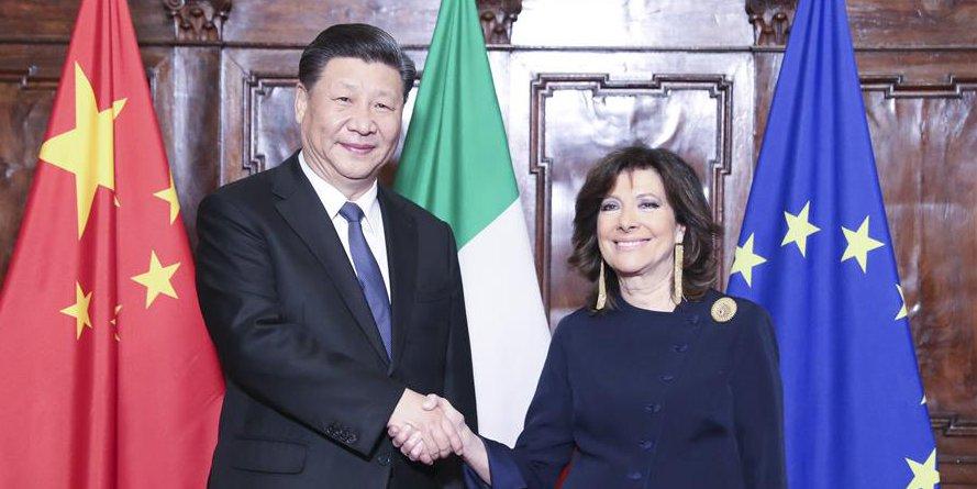 China e Itália concordam em expandir intercâmbios legislativos