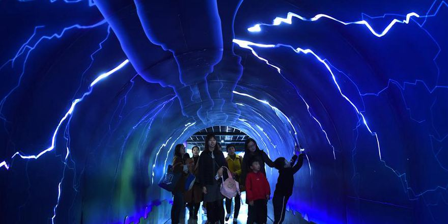Crianças em toda a China aprendem sobre meteorologia no Dia Meteorológico Mundial
