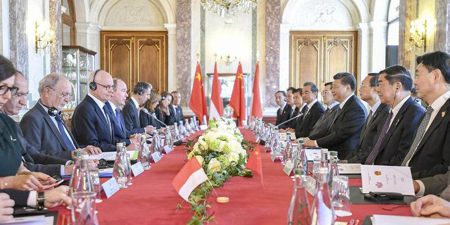 Xi realiza conversações com príncipe Albert II sobre fortalecimento dos laços China-Mônaco