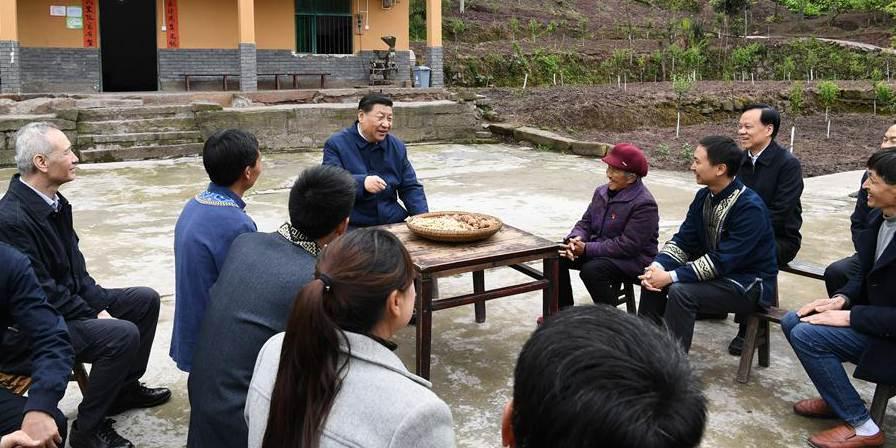 Presidente chinês faz visita de inspeção na cidade de Chongqing