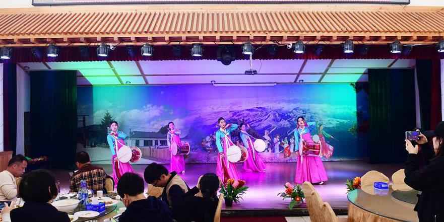 Aldeia próxima à Montanha Changbai em Jilin se beneficia do turismo rural