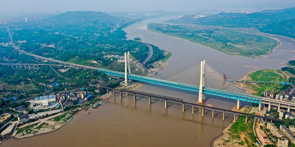 Nova ponte ferroviária iniciará operação em Chongqing