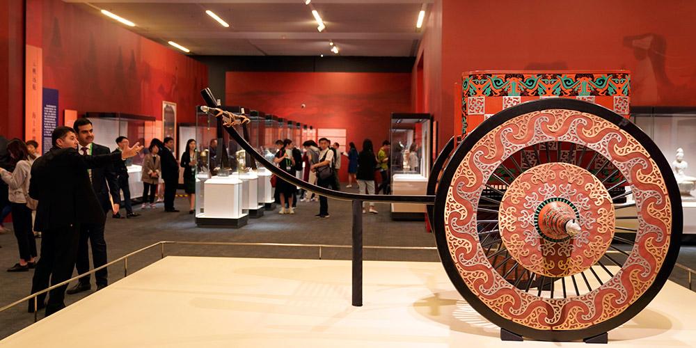 Realizada exposição de civilizações asiáticas em Beijing