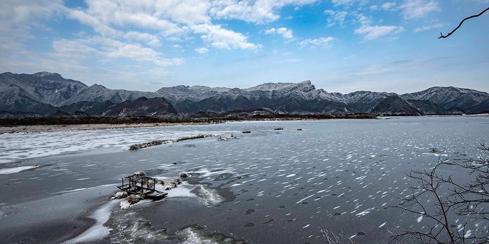 Paisagem do Parque Nacional de Shennongjia em Hubei, centro da China