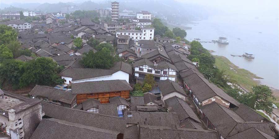 Galeria: antiga cidade de Songji em Chongqing