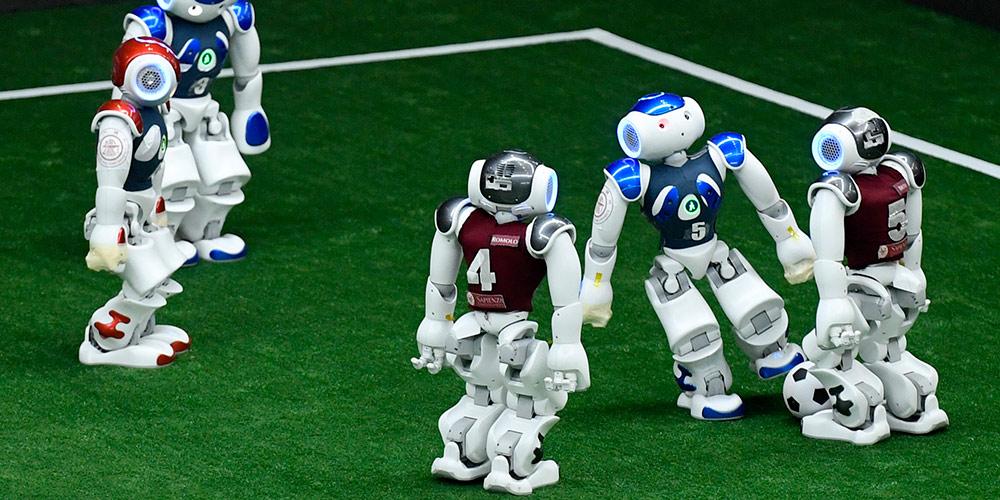 """Aberta competição de robótica da Ásia-Pacífico """"RoboCup"""" em Tianjin"""