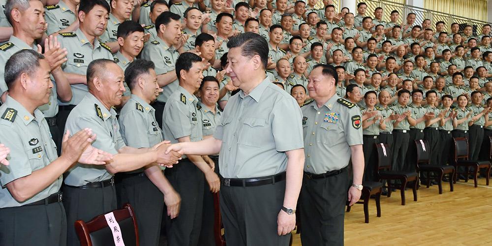 Xi sublinha educação dos militares para Exército forte
