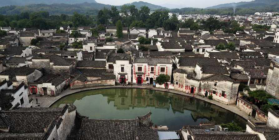 Fotos: cenário da aldeia Hongcun em Anhui