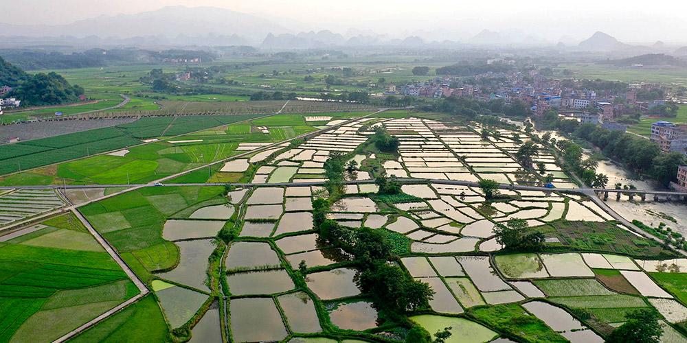 Fotos: paisagem campestre do distrito de Daoxian em Hunan