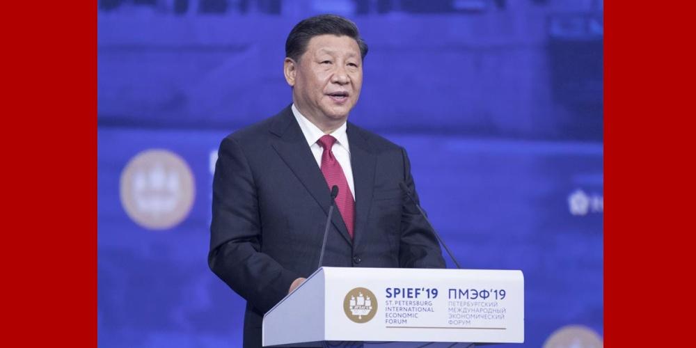 """Xi destaca desenvolvimento sustentável como """"chave dourada"""" para resolver problemas globais"""