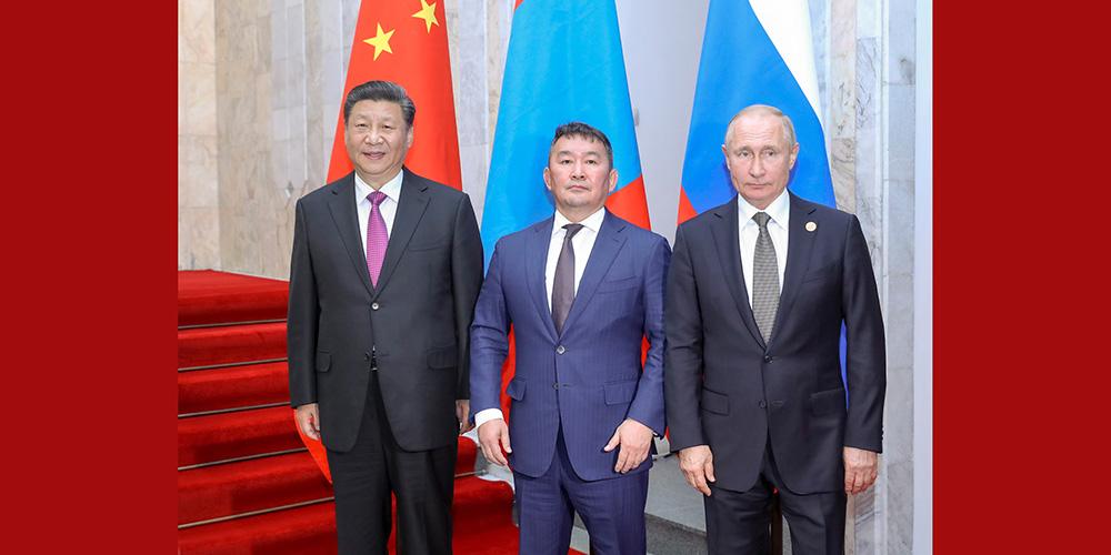 China, Rússia e Mongólia prometem fortalecer cooperação trilateral