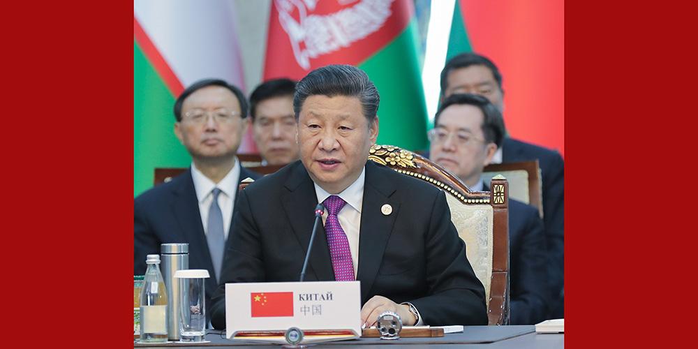 Presidente chinês pede à SCO por uma comunidade mais estreita de futuro compartilhado