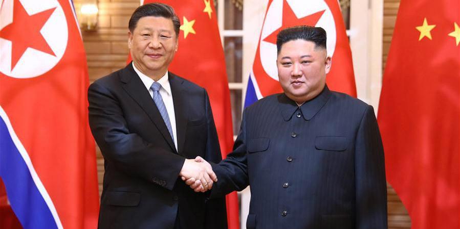 Xi diz que China apoia solução política da questão da Península Coreana