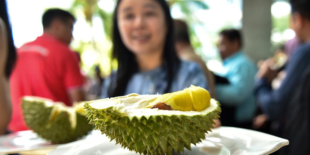 China receberá primeiro lote de durião inteiro da Malásia