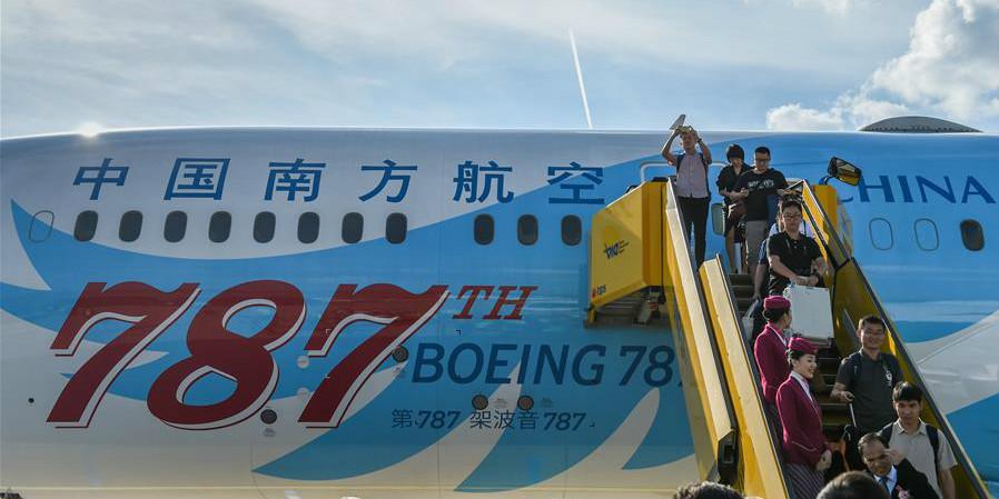 China Southern Airlines abre rota aérea Guangzhou-Urumqi-Viena