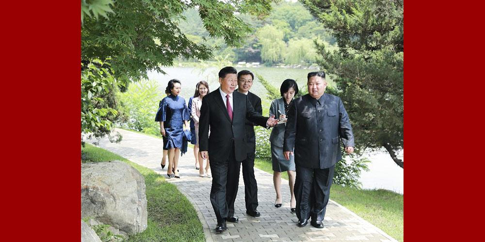 China está pronta para se juntar à RPDC para tornar realidade o plano dos laços bilaterais
