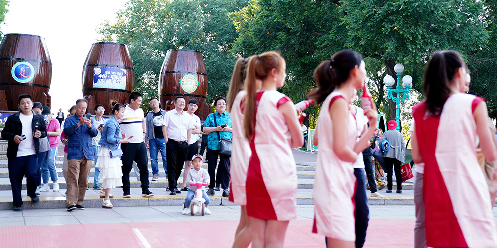 18º Festival Internacional de Cerveja abre em Harbin
