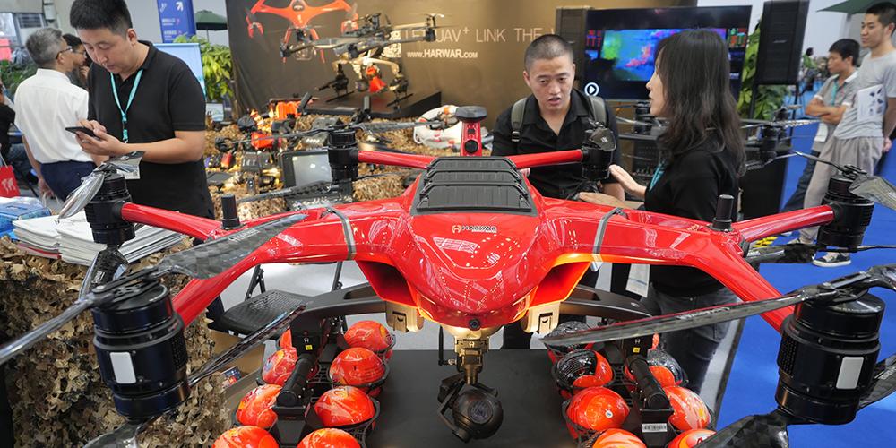 4ª Exposição Internacional de Drones de Shenzhen abre em Guangdong, sul da China