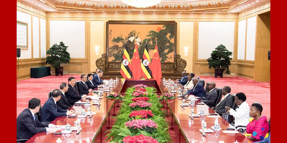 China e Uganda elevam laços para parceria cooperativa abrangente