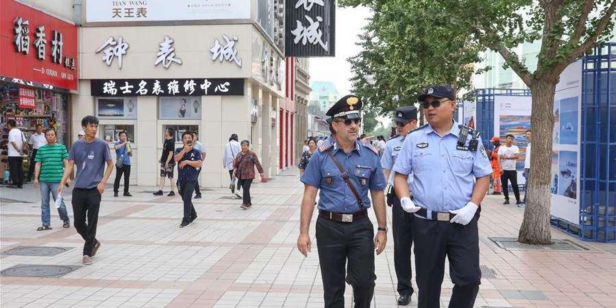 Polícia italiana inicia terceira patrulha conjunta na China