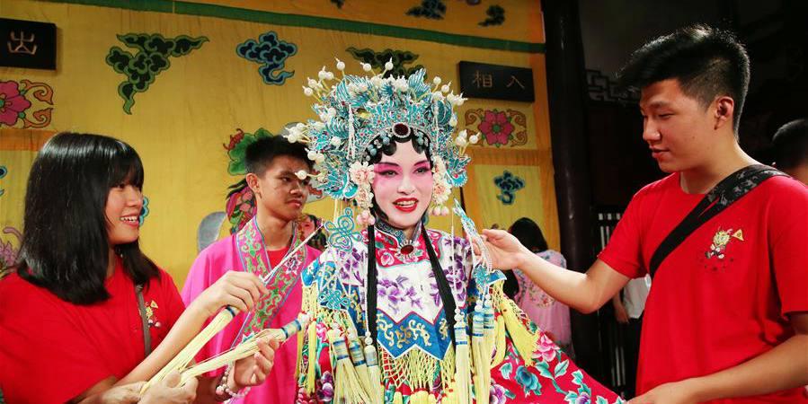 Adolescentes chineses no exterior buscam suas origens culturais em Jiangsu