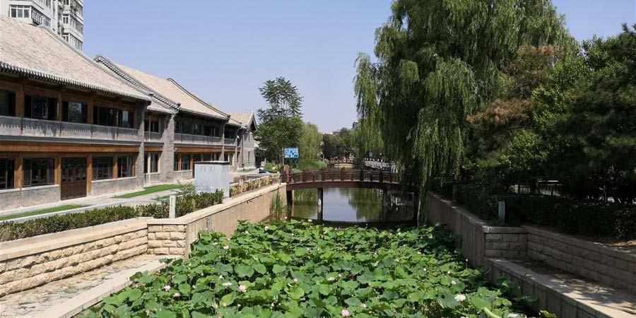 Paisagem de verão em Beijing