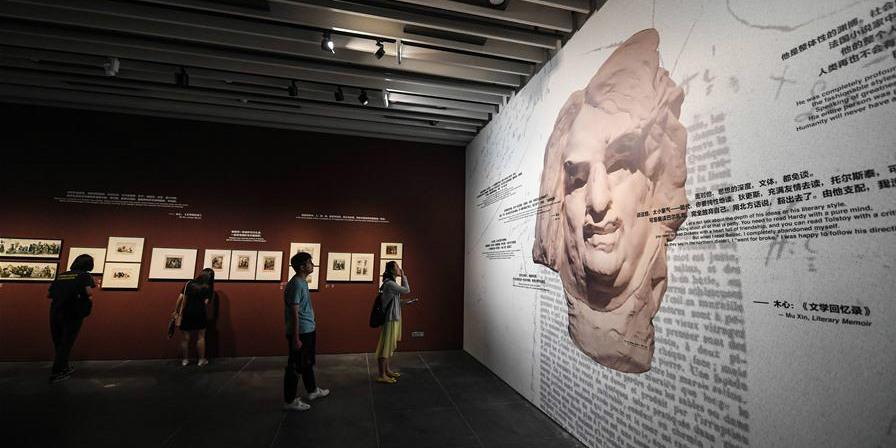 Exposição comemorativa do escritor francês Balzac é realizada em Wuzhen