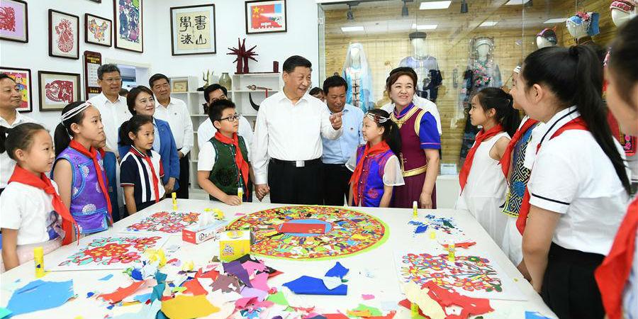 Xi destaca desenvolvimento concentrado no povo em inspeção à Mongólia Interior