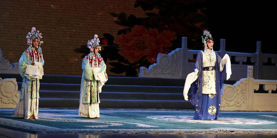 Inaugurado 14.º Concerto Nacional Universitário da Ópera de Pequim em Lanzhou