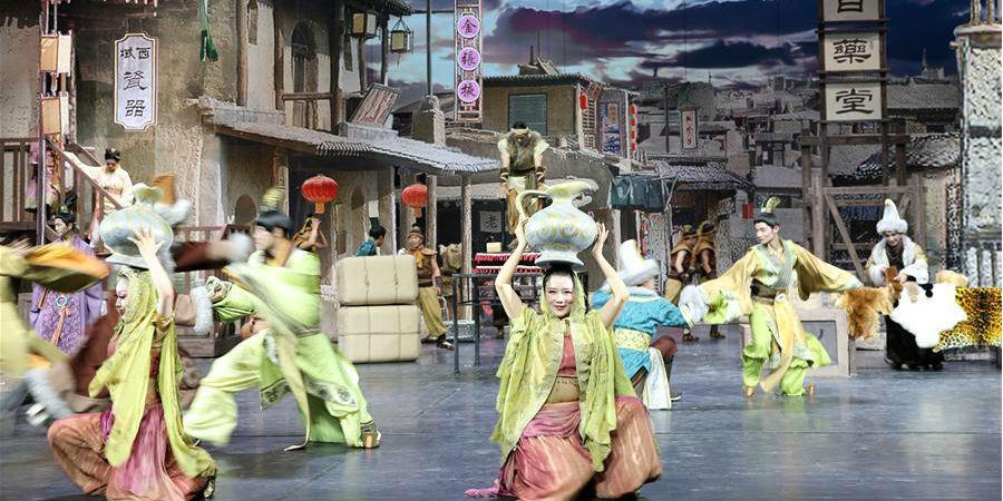 Novo drama teatral que retrata a história de Zhangye estreia em Gansu