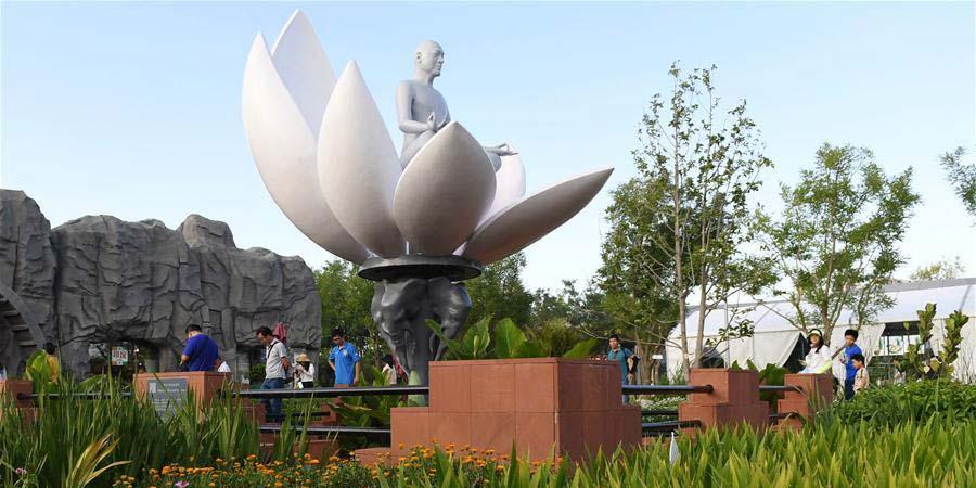 """Evento """"Dia da Índia"""" é realizado na Exposição Internacional de Horticultura de Beijing"""