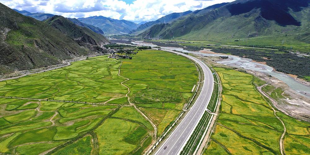 Fotos: cenário da rodovia Lhasa-Nyingchi no Tibet, sudoeste da China
