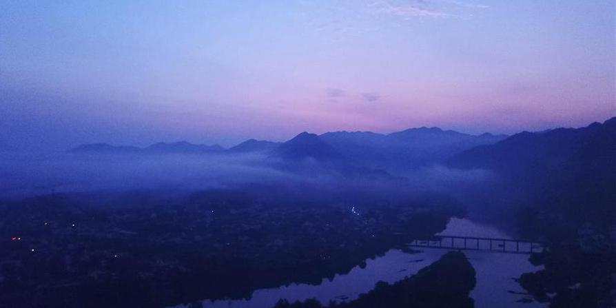 Fotos: ponto turístico de Taohuatan em Anhui, leste da China