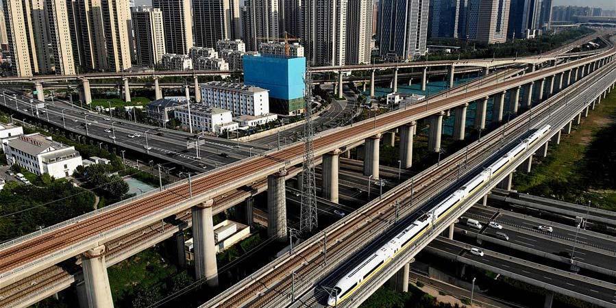 Seção de Henan da ferrovia Zhengzhou-Fuyang inicia teste conjunto