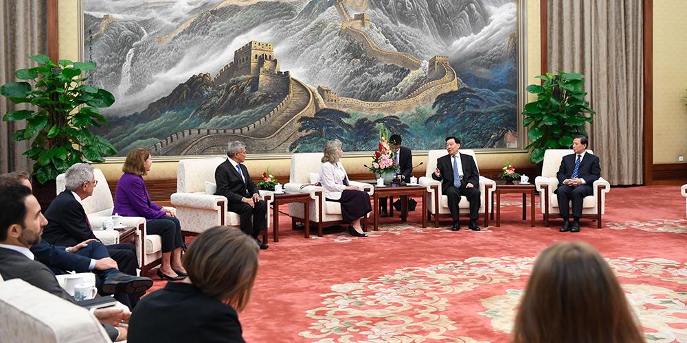 Funcionário chinês de alto escalão reune-se com membros da Câmara dos EUA