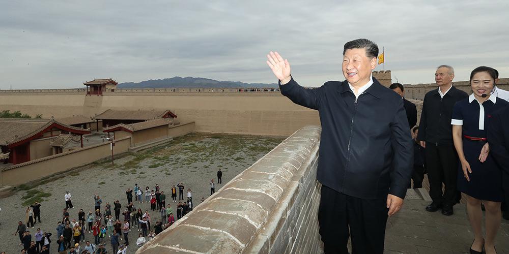 Preservar a Grande Muralha como símbolo da nação chinesa, diz Xi