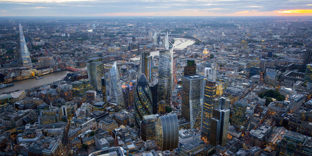 Centro de Londres coloca regras mais restritas sobre os arranha-céus por conta de medos de túnel de vento