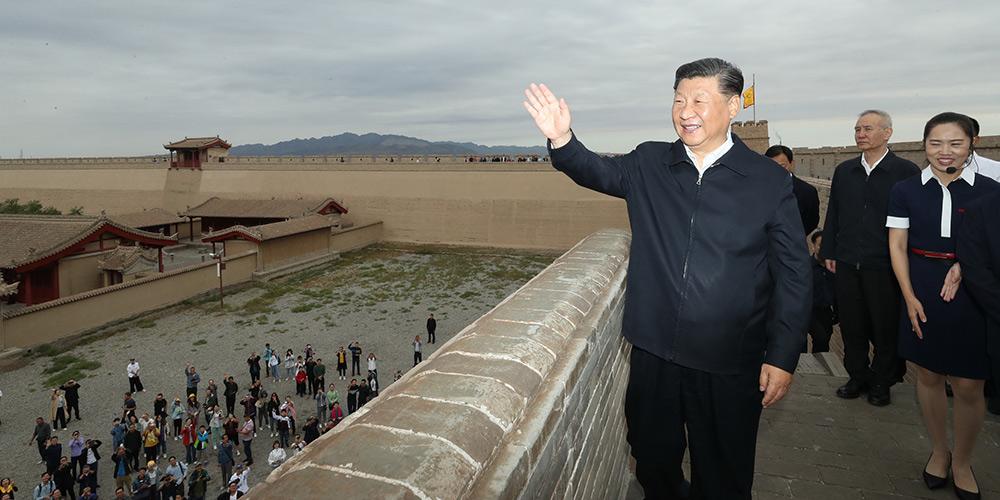 Xi destaca preservação da Grande Muralha como símbolo da nação chinesa