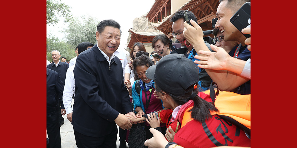 Xi destaca alívio da pobreza, desenvolvimento de alta qualidade e proteção ambiental