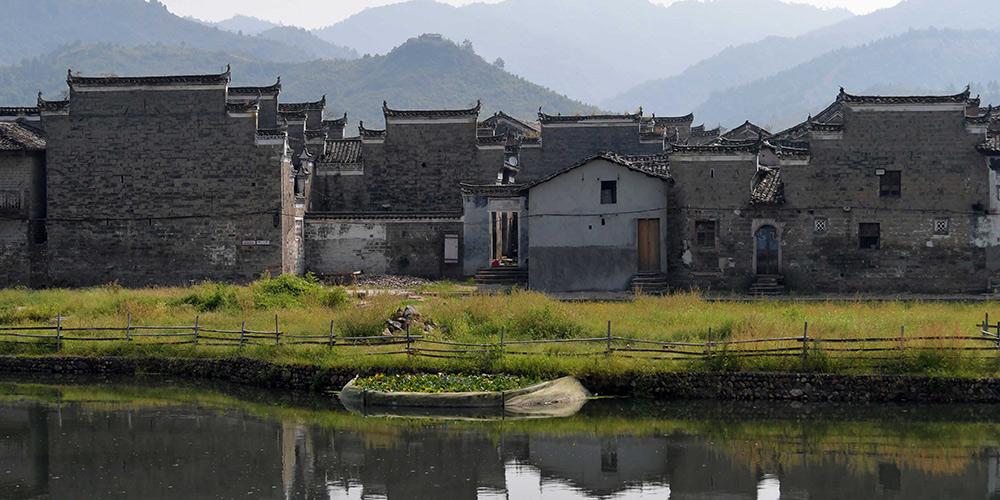 Sítio do patrimônio cultural da China - aldeia Liukeng