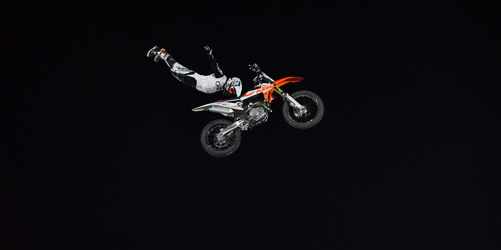Destaques do Campeonato Mundial de Freestyle Motocross