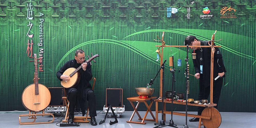 """Fórum Temático """"Um Material Promissor"""" é realizado na Exposição Internacional de Horticultura de Beijing"""
