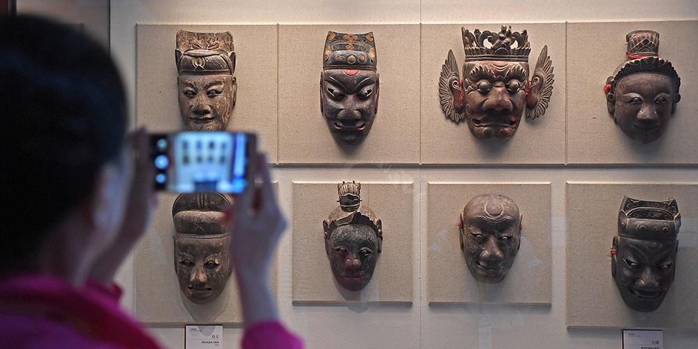 Exposição de máscaras começa no distrito de Nanfeng, Jiangxi