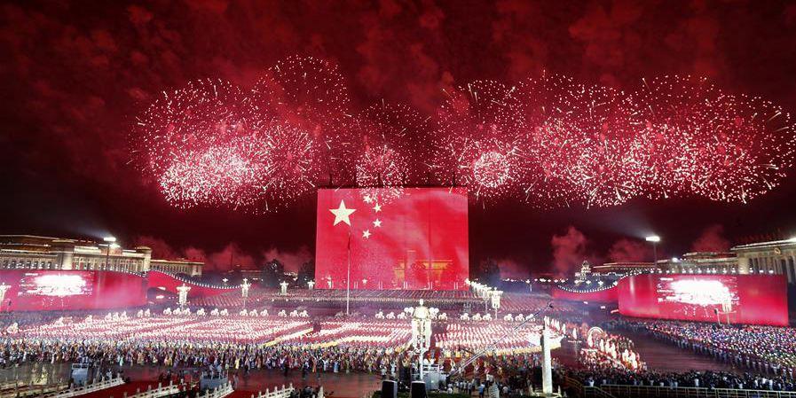 Destaques da gala noturna em celebração ao 70º aniversário de fundação da República Popular da China