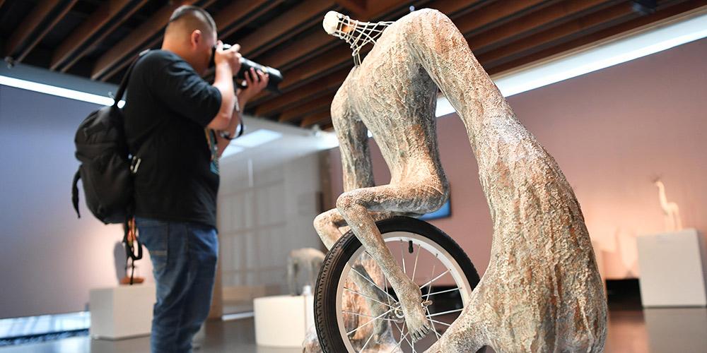 Realizada exposição de cerâmica em Nova Taipei, no sudeste da China