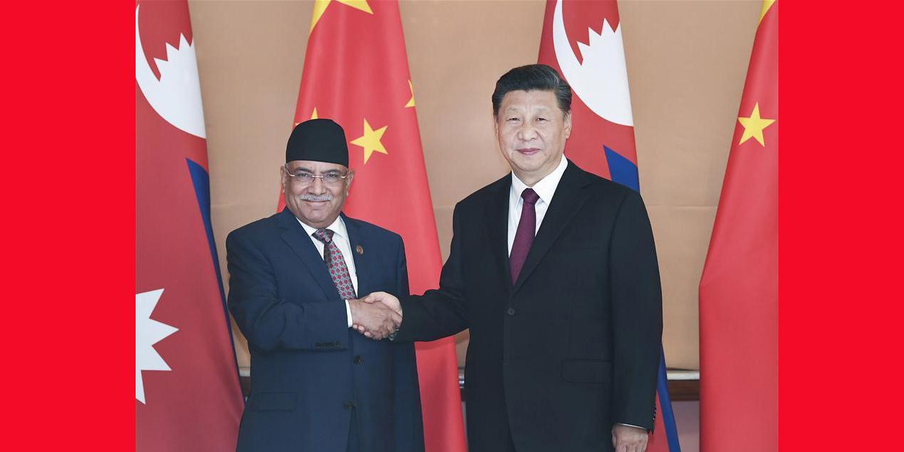 Xi reúne-se com copresidente do Partido Comunista do Nepal para promover laços interpartidários