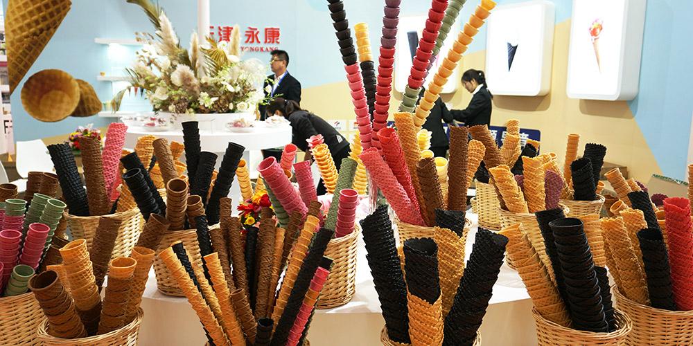 Exposição Internacional da Indústria de Sorvete da China começa em Tianjin