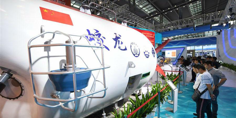 Exposição de Economia Marítima da China 2019 inicia em Shenzhen