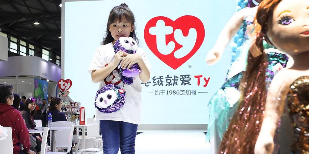 18ª Feira de Brinquedos da China inicia em Shanghai